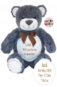 Grey Godmother Teddy Bear