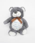 Personalise Wedding Teddy Bear