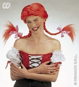 Naughty Girl Red Wig