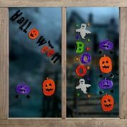 Halloween Gel Window Stickers