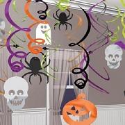 Halloween Hanging Swirls