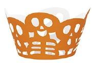 Halloween Orange Cupcake Wrap