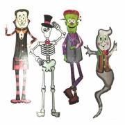 Halloween Paper Characters