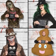 Halloween Photo Booth Scenes