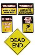 Halloween Warning Signs