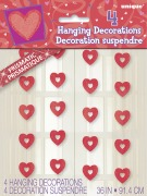 Hanging Hearts Decorations