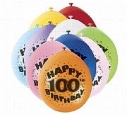 Happy 100th Birthday Balloons