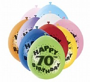Happy 70th Birthday Balloons