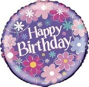 Happy Birthday Blossom Balloon