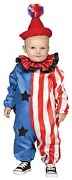 Happy Clown Toddler Costume