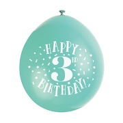 Happy 3rd Birthday Balloons
