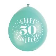 Happy 50th Birthday Balloons