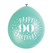 Happy 90th Birthday Balloons