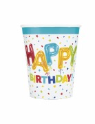 Happy Balloon Birthday Cups