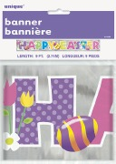 Happy Easter Foil Banner