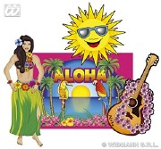 Hawaiian Cutouts Decorations