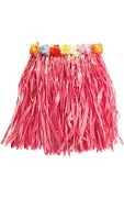 Hawaiian Pink Grass Skirt