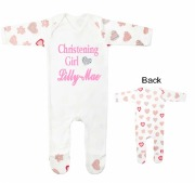Christening Girl Baby Grow