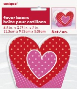 Hearts Favor Boxes