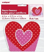 Hearts Favor Boxes