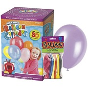 Helium Cylinder & 50 Balloons