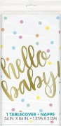 Hello Baby Tablecover