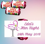 9PK Hen Night Lovehearts