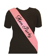 Hen Party Pink Sash