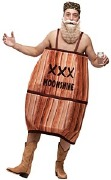 Hillbilly Barrel Costume