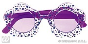 Purple Hippie Glasses