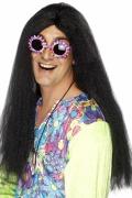 Hippie Black Wig