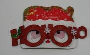 Ho Ho Christmas Glasses