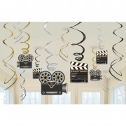 Hollywood Swirl Decorations