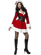 Hooded Santa Costume