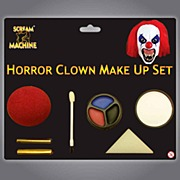 Horror Clown Face Paint Set