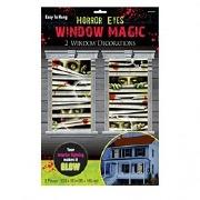 Horror Eyes Window Magic