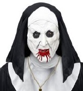 Horror Nun Mask