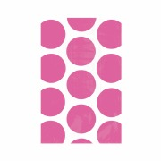 Hot Pink Dots Paper Bags
