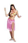 Neon Pink Hula Skirt