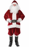 Imperial Plush Santa Suit