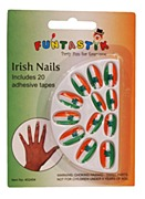 Irish Flag Nails