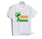 Kids Irish Princess T-Shirt