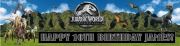 Personalise Jurassic Banner