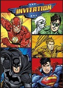 Justice League Party Invites