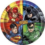 Justice League Plates