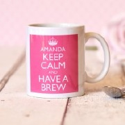 Keep Calm Pink Mug