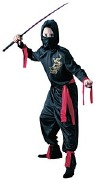 Kids Black Ninja Costume