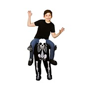 Kids Carry Me Skeleton Costume