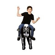 Kids Carry Me Skeleton Costume