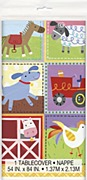 kids Farm Party Tablecover